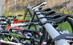 mountain bikes in the transition zone